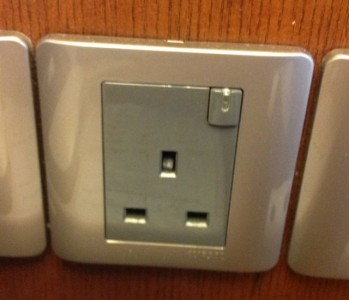 Malaysia Wall Power Socket is 220 volts same as Australia and Europe